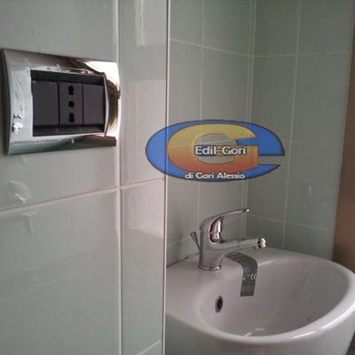 Casa moderna roma italy progetto bagno piccolo - Ristrutturare bagno piccolo ...