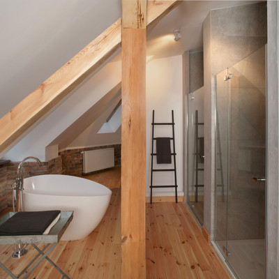 Un loft in perfetto stile neyorkese