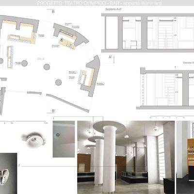 Progetto ristrutturazione Bar Teatro Olimpico