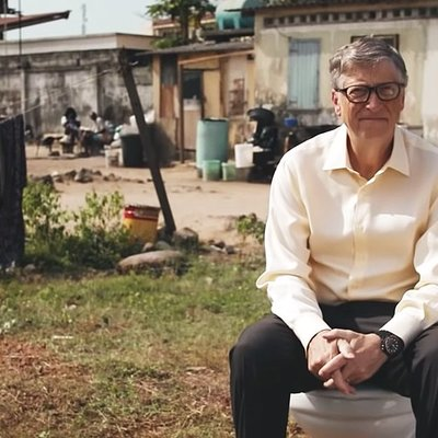 Un wc senz'acqua? Bill Gates lo ha inventato
