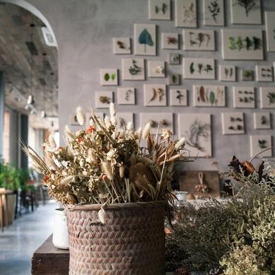 Decorare casa con i fiori secchi