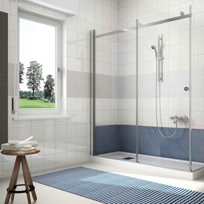 Idee di installare o cambiare vasca da bagno o doccia per ispirarti habitissimo - Vasca bagno con doccia ...