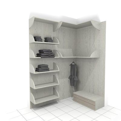 Cabina armadio e scarpiera