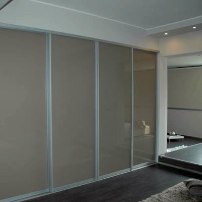 cabina armadio con ante vetro