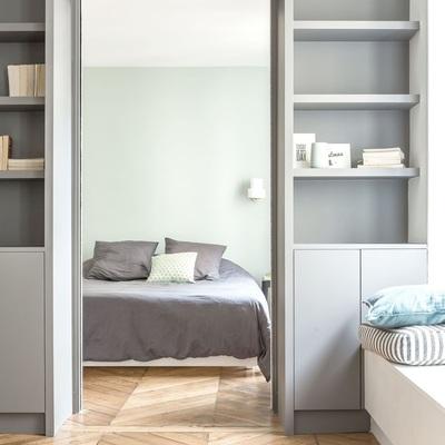 72 mq : un appartamento color pastello nel cuore di Parigi