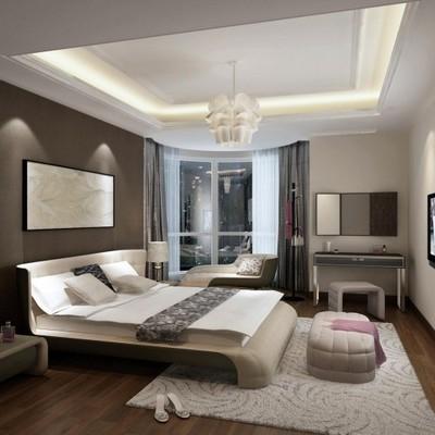 Immagini di camere da letto con pietre e cornici in gesso - Cornici per camere da letto ...