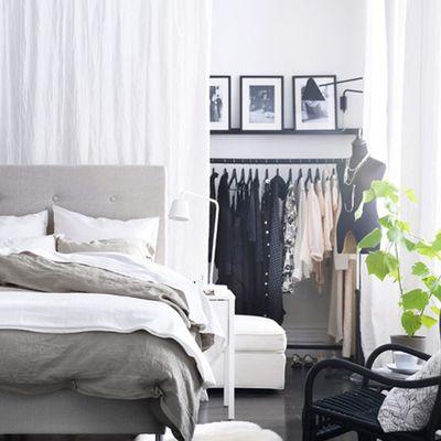 Idee per trasformare la camera da letto in cabina armadio
