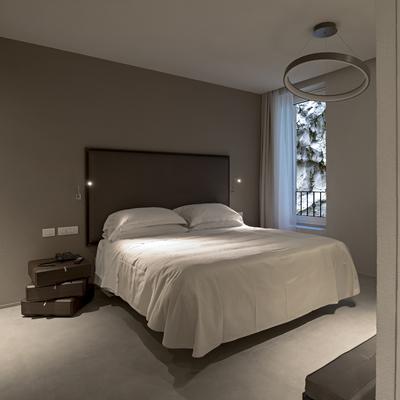 camera da letto appartamento al piano primo