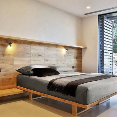 Rivestimento muro camera da letto casamia idea di immagine - Rivestire parete con legno ...