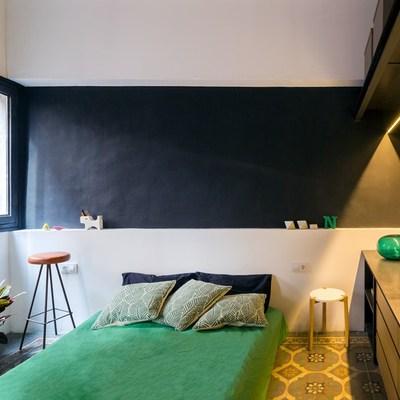 Preventivi e colori per una dipingere camera da letto - Parete nera camera da letto ...