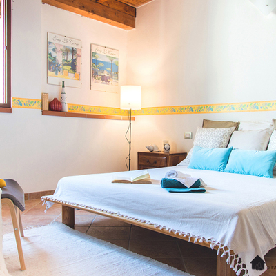 Camera da letto - home staging sardegna