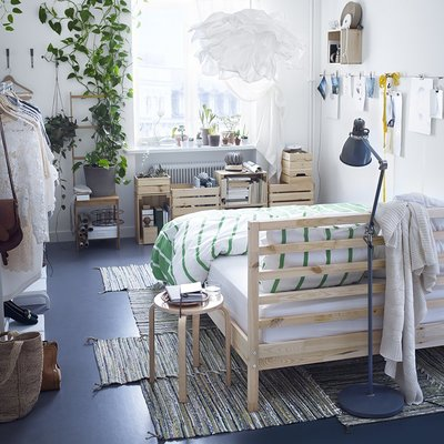 5 soluzioni per arredare la camera da letto con meno di 1000 €