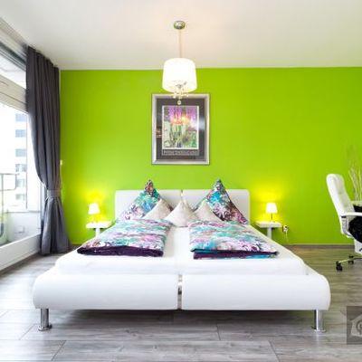 camera da letto pittura lavabile