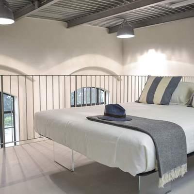 Camera da letto soppalco