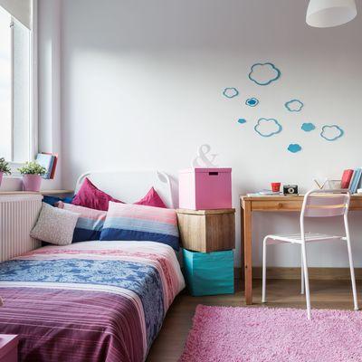 Quante volte è necessario cambiare la camera dei bambini?