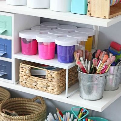 8 idee per tenere in ordine la camera dei più piccoli