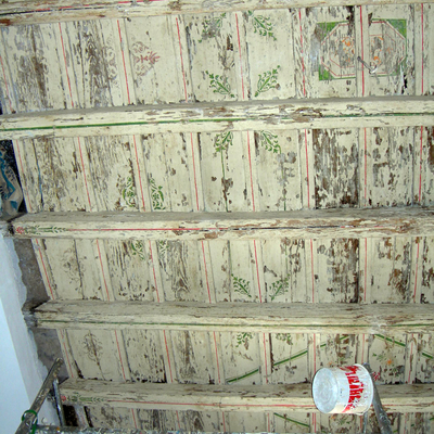 Progetto Pulitura e sigillatura cassettoni soffitti.