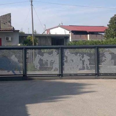 progetto Cancello carrabile scorrevole