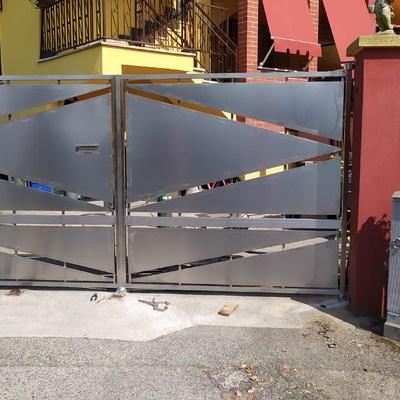 Cancello acciaio inox