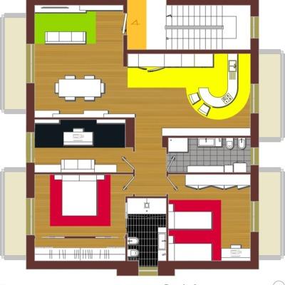 CASA FANTI - Realizzazione sia del Progetto Architettonico che dell'esecuzione delle opere.