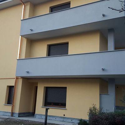 Rivestimento termico a cappotto cm 16 e isolamento sotto tetto con pannelli xps cm 10