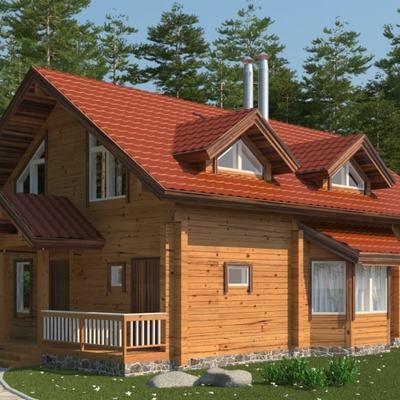 casa in legno 173 mq