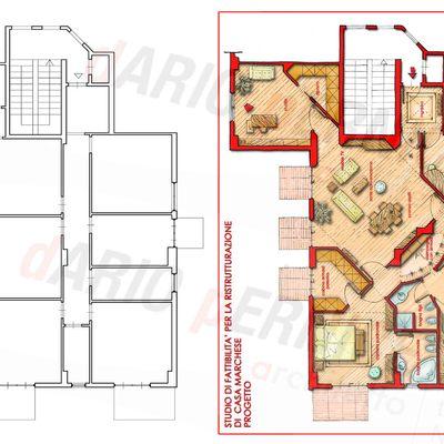 Progetto di ristrutturazione appartamento a Bagheria (PA)