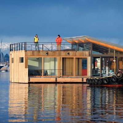 9 sorprendenti case galleggianti