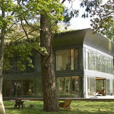 Casa prefabbricata disegnata da Philippe Starck per Riko