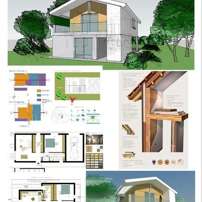 Progetto realizzazione Casa unifamilare in classe A