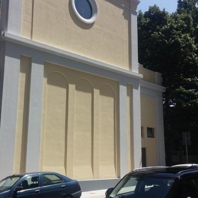 Pitturazione esterno chiesa