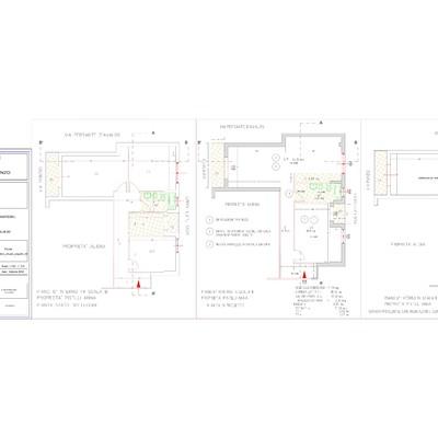 CILA residenza privata per lavori di manutenzione straordinaria per variazione distribuzione interna