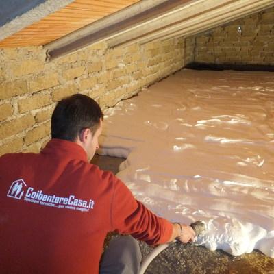 Progetto Coibentazione sottotetto - Protezione dal freddo e dal caldo a Orvieto (TR)