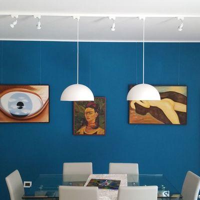 5 regole per ingrandire le stanze con la pittura