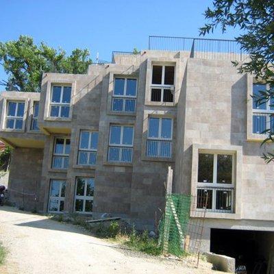 Progetto realizzazione complesso residenziale