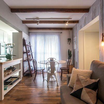 Idee di ristrutturazione appartamento 60 mq per ispirarti for Appartamento design industriale