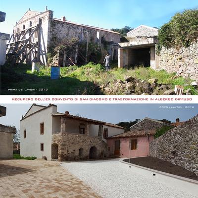 Recupero dell'Ex Convento di San Giacomo e trasformazione in albergo diffuso