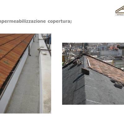 Ristutturazione tetti e posa in opera di finestre per tetti in legno