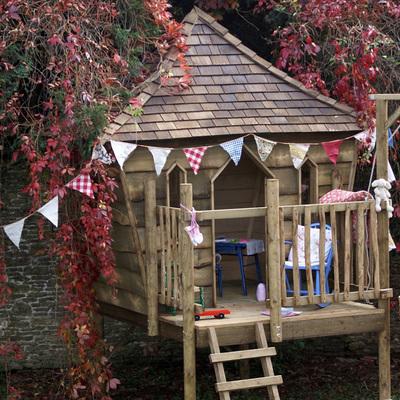 Idee di casette in legno per ispirarti habitissimo - Costruire casa albero ...