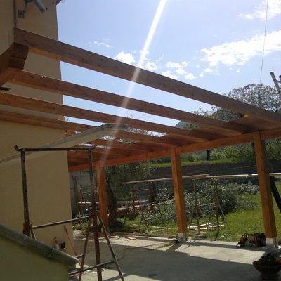 Impresa edile cosanco sas di conte giovanni c for Kit di costruzione portico