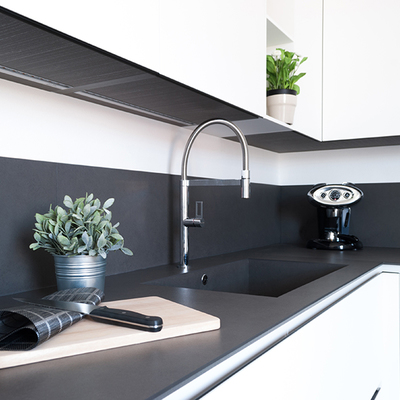 Quadrilocale ad origgio | Linee essenziali e spazio al vuoto: quando il minimal diventa casa!