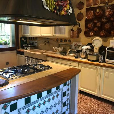Laccatura cucina in stile country
