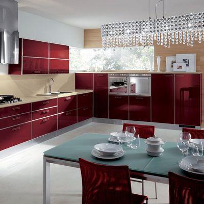 Cucine in rosso: passione e colore ogni giorno in casa