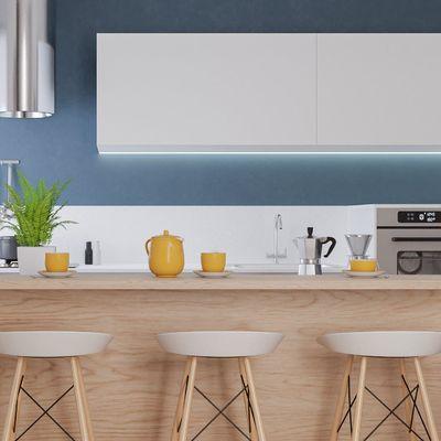 Il bancone in cucina: dal piano colazione all'isola attrezzata