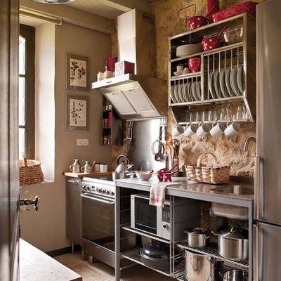 Idee e foto di credenze per cucine per ispirarti habitissimo for Cucina aperta