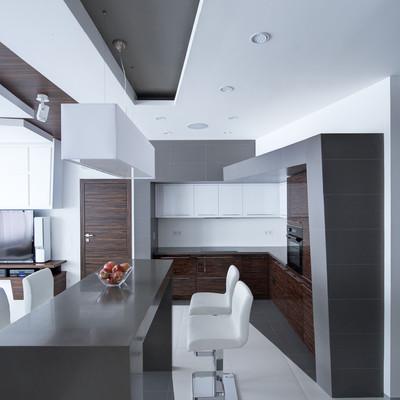 Idee e foto di controsoffitti in cartongesso per ispirarti - Cartongesso per cucine moderne ...