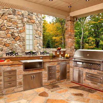 7 idee per godersi una cucina da esterno