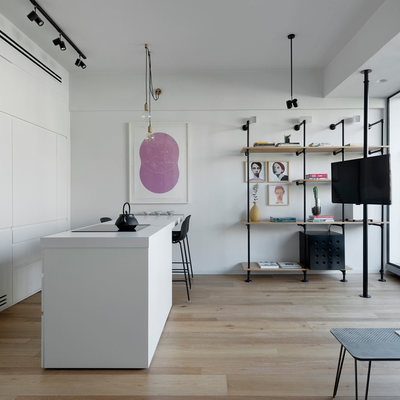 Un appartamento riportato a nuova luce