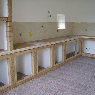 Riedil caperana for Mobili per cucine in muratura fai da te