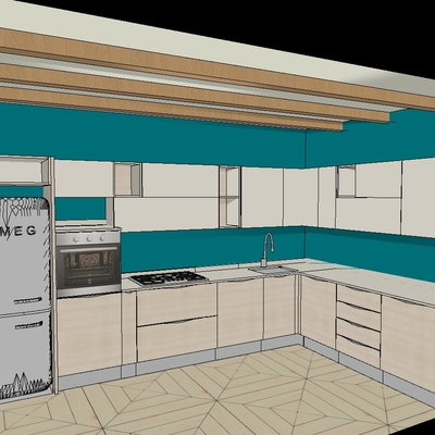 progetto Cucina mod. Start Time